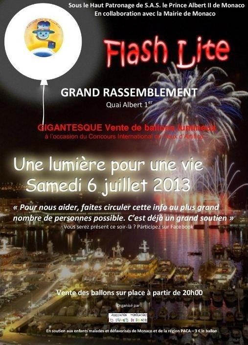 Vie associative - Flash Lite, une lumière pour une vie