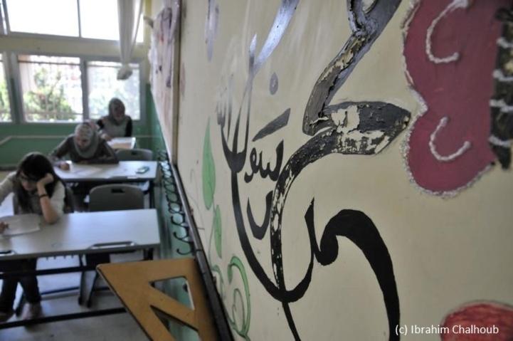 Examen syrien au Liban! Photo (C) Ibrahim Chalhoub