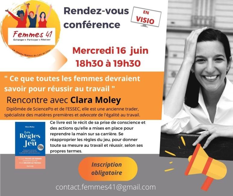 "Clara Moley auteur de ""Les règles du jeu"" (c) Femmes 41."