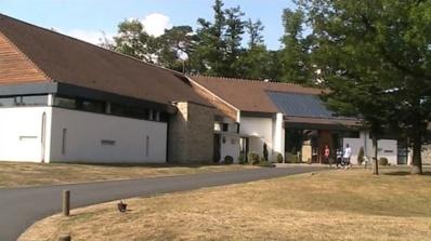A Clairefontaine, les jeunes sont formés en vue d'intégrer un centre de formation. Mais l'institut devient également un lieu de vie et d'étude pour ces footballeurs en herbe. Photo (c) M.D.