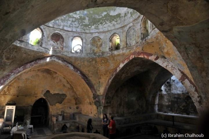 Les arcades du hammam! Photo (C) Ibrahim Chalhoub