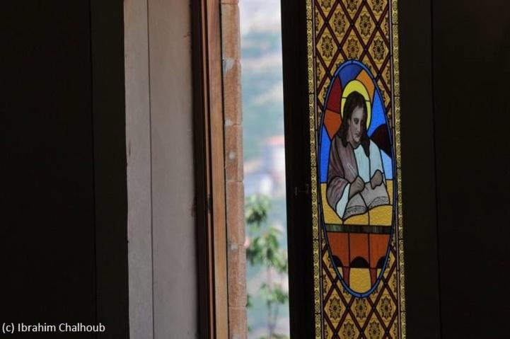 Décor religieux! Photo (C) Ibrahim Chalhoub