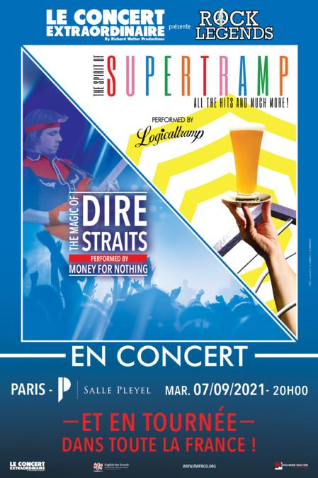 Rock Legends célèbre les tubes de Supertramp et Dire Straits en tournée françaiseArticle n°28459