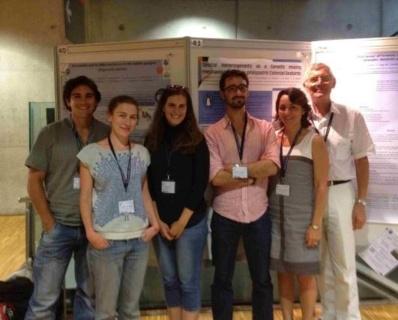 Jason D. Whittington (CSM/CNRS/CEES), Céline Le  Bohec (CSM), Cindy Cornet (CSM), Robin Cristofari (CSM/CNRS), Florence  Descroix-Comanducci (CSM/DPOI), S.E. M. Patrick Van Klaveren (DPOI). Photo © CSM