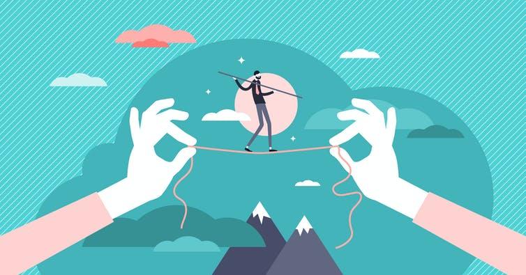 La modestie, une question d'équilibre ? Shutterstock