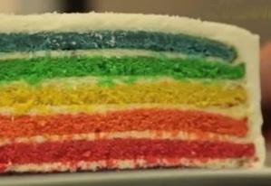 RECETTES EN VIDÉO - Rainbow cake