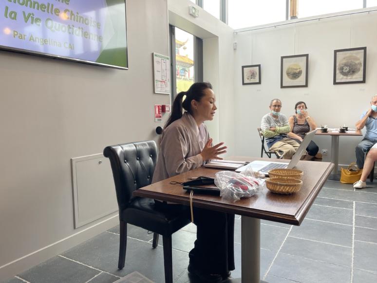 Angelina Cai a proposé des règles simples pour rester en bonne santé (c) D. Chuit