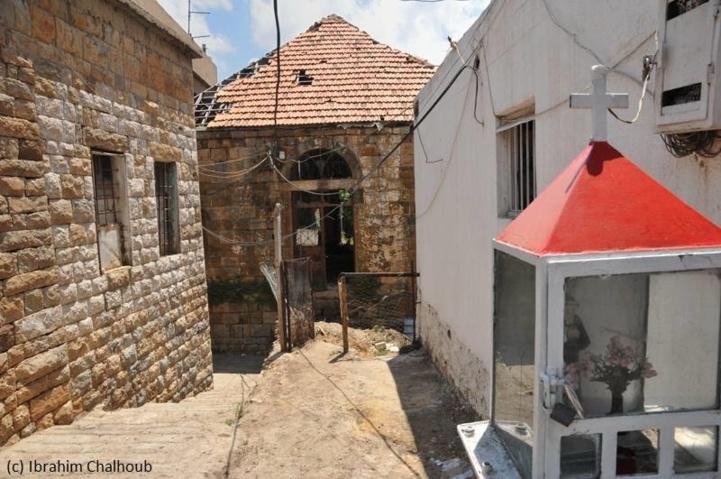 Pauvre maison! Photo (C) Ibrahim Chalhoub