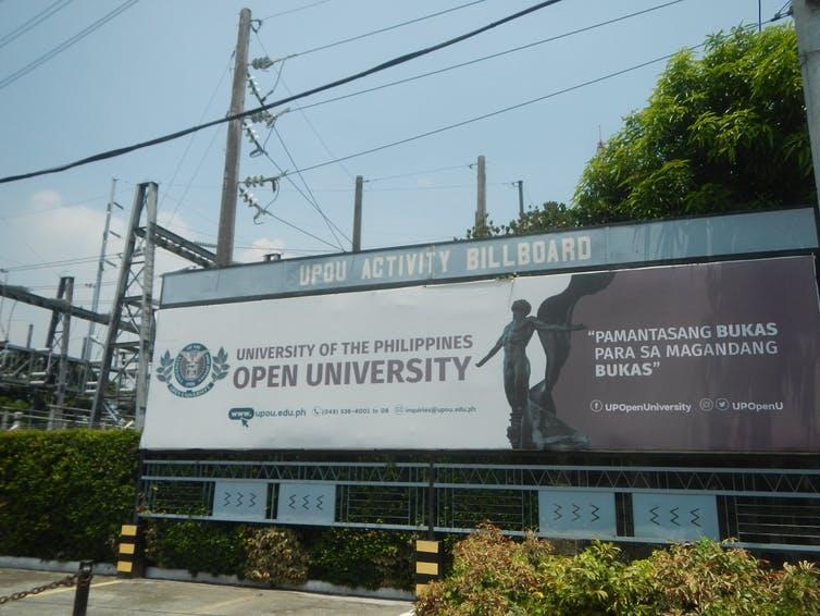 University of the Philippines Open University. Judgefloro/Wikimedia