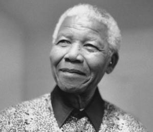 Nelson Mandela. Photo du domaine public.