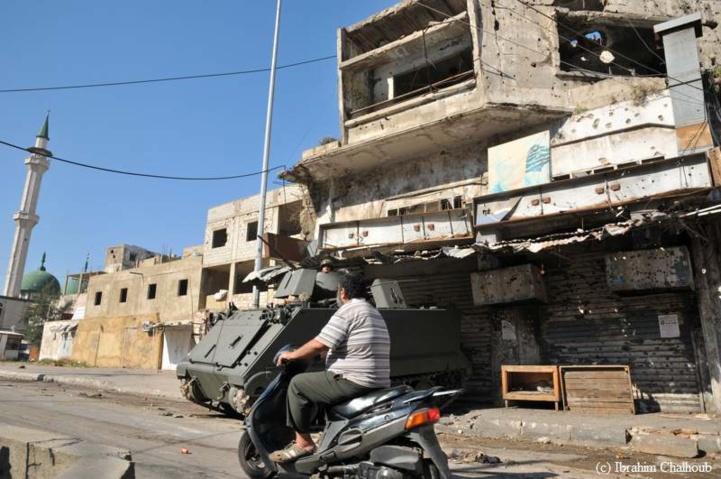 Armée ou chaos! Photo (C) Ibrahim Chalhoub
