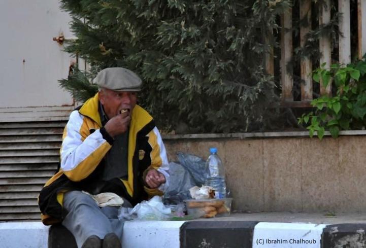 Pauvre homme! Photo (C) Ibrahim Chalhoub