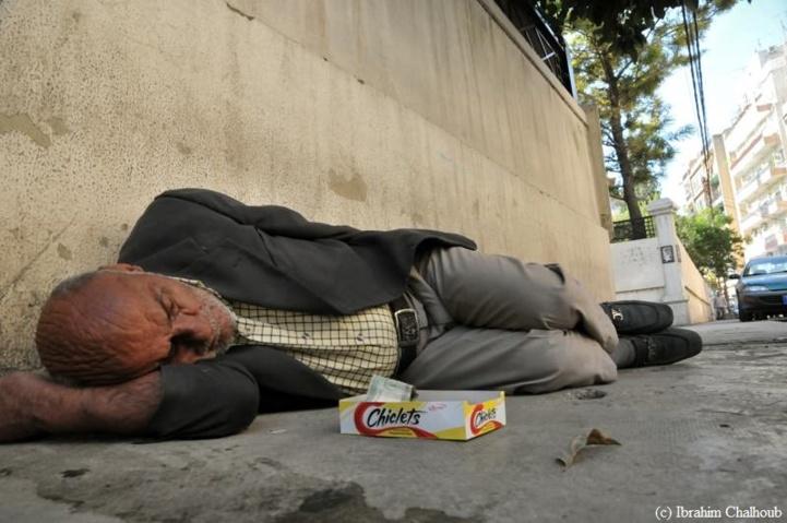 Le lit des pauvres! Photo (C) Ibrahim Chalhoub