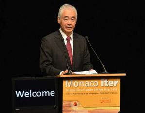 Osamu Motojima, Directeur Général d'Iter Organization. Photo © Charly Gallo / CDP