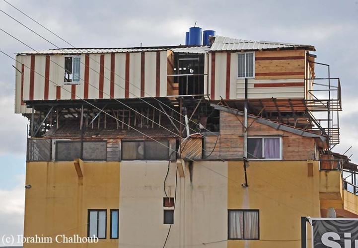 Appartement suicidaire! Photo (C) Ibrahim Chalhoub