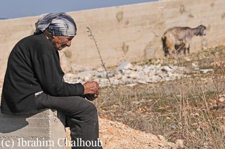 Le temps sur le visage! Photo (C) Ibrahim Chalhoub