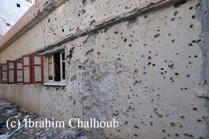 Effets de la guerre! Photo (C) Ibrahim Chalhoub