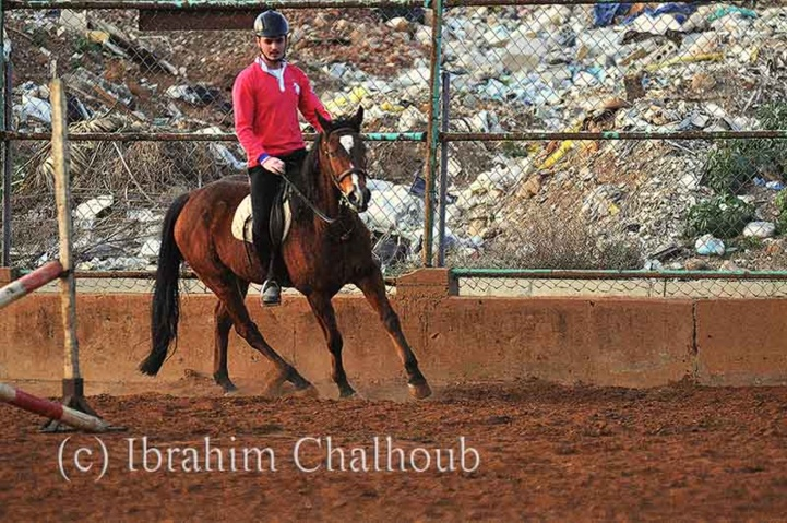 A cheval! Photo (C) Ibrahim Chalhoub