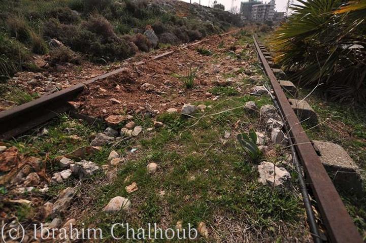 Savez-vous où mènent ces rails? Photo (C) Ibrahim Chalhoub