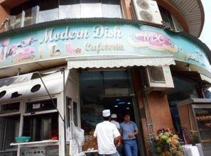Modern Dish Cafeteria dans le quartier de Bur Dubaï Deira, l'une des échoppes indiennes les plus courues et abordables de la vieille ville. Photo: KPM