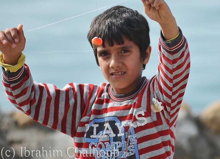 Pêche du jour! Photo (C) Ibrahim Chalhoub