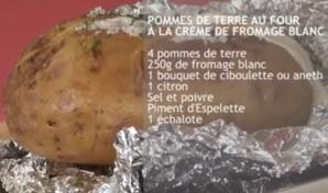 RECETTES EN VIDÉO - Pommes de terre au four