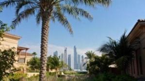 Vue de Dubaï depuis l'hôtel de luxe One&Only The Palm sur la Palm Jumeirah. Photo KPM