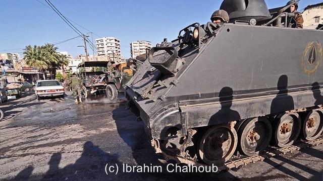 Sécurisant la ville! Photo (C) Ibrahim Chalhoub