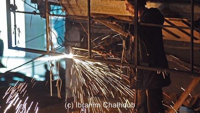 Le fer fond! Photo (C) Ibrahim Chalhoub