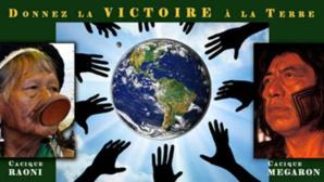 Coupe du Monde: Le Chef Raoni lance le S.O.S. Amazonia Tour