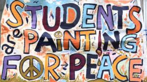 70e anniversaire du Débarquement: Peindre pour la paix
