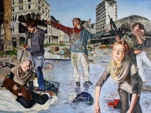Guernica vs Homs © Florent Espana