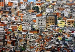 Favelas hyperrealiste © Florent Espana