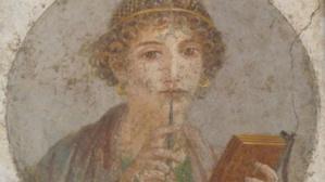 Fresque Pompéi. Photo © Virginie Dubreuil