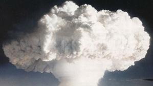 Essai nucléaire atmosphérique en 1952. Photo (c) CTBTO