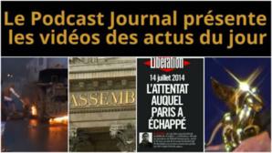 Les actualités en 4 vidéos du 8 septembre 2014