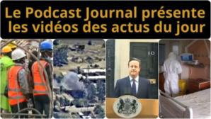 Les actualités en 4 vidéos du 19 septembre 2014