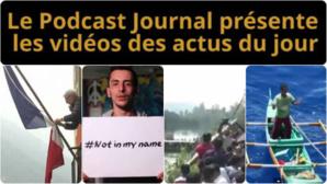 Les actualités en 4 vidéos du 25 septembre 2014