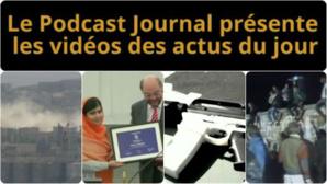 Les actualités en 4 vidéos du 10 octobre 2014