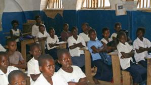 Ecole rurale en RDC. Photo (c) Ken Wiegand