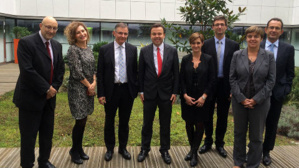 La délégation monégasque à l'UNEDIC. photo courtoisie (c) DR