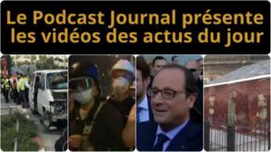 Les actualités en 4 vidéos du 6 novembre 2014