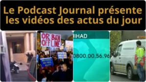 Les actualités en 4 vidéos du 18 novembre 2014