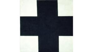 La Croix noire de Malevitch. Cliquez ici pour accéder au site du Grimaldi Forum