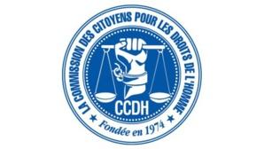 Logo de la CCDH*. Cliquez ici pour accéder au site