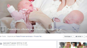 Copie écran. Cliquez ici pour accéder à la page spéciale de l'événement créé par le Palais Princier sur Facebook