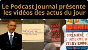 Les actualités en 4 vidéos du 17 décembre 2014