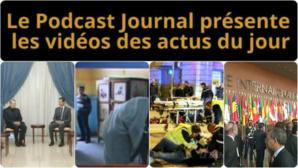 Les actualités en 4 vidéos du 22 décembre 2014