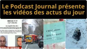 Les actualités en 4 vidéos du 8 janvier 2015