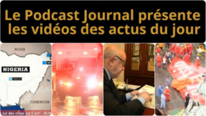 Les actualités en 4 vidéos du 13 janvier 2015